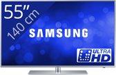 Samsung UE55JU6410 - Led-tv - 55 inch - Ultra HD - Smart-tv - Zilver
