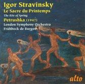 Strawinsky Le Sacre/Petrushka
