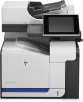 HP ColorLaserJet M575f MFP 4in1/Fax/Stapler/50sht ADF/500+100 sh paper input/250 sh output/8i touch/10-100-1000 netwerk/encrypted HDD/scan to email.netwerkfolde