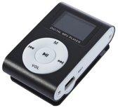Mini MP3 Speler met LCD [zwart] + oortjes en opber
