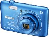 Nikon COOLPIX S3700 - Blue Lineart