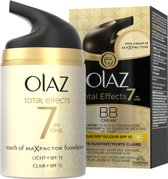 Olaz Total Effects Touch of Foundation SPF 15 - Licht - Dagcrème 50 ml