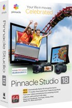 Pinnacle Studio 18 - Nederlands/ 1 Gebruiker/ DVD