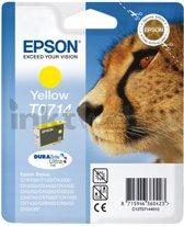 Compatible Epson T0715 Inktcartridges met chip, 10 Pack, 4 Zwart, 2 Magenta, 2 Cyaan, 2 Geel