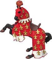 Papo Paard van Prins Philip (rood)