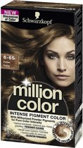 Schwarzkopf Million Color 6-65 - Haarkleuring