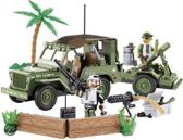 Cobi Small Army Willis with mortar - 24200