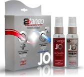 System JO 2-To-Tango Couples Kit - 2 x 75 ml - Glijmiddel