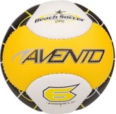 Avento Mini Voetbal Strand - Soft Touch - Geel/Wit/Zwart - 3