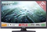 Salora 22LED9102CS - Led-tv - Smart tv - Full HD - zwart