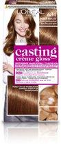 L'Oréal Paris Casting Creme Gloss - 634 Donker Goudkoperblond - Crèmekleuring