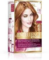 L'Oréal Paris Ecellence - 7.43 Koper Goudblond - Crème
