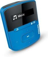 Philips GoGear Raga - MP3-speler - 4 GB - Blauw