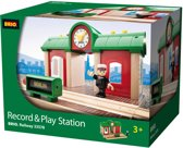 Brio Record & Play Treinstation