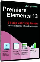 Staplessen voor Adobe Premiere Elements 13 - Nederlands / Windows / DVD