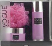 Vogue Exclusive Treasure Foam-Bodycream-Puff geschenkverpakking