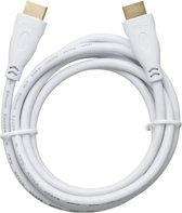 Bigben 1.4 3D 4K High Speed Ethernet HDMI Kabel - 2 m - Wit