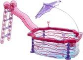 Barbie Glam Zwembad - Accessoireset