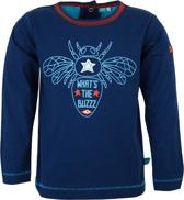 lief! Jongens T-shirt - Estate Blue - Maat 86