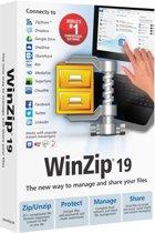 WinZip Standard - (versie 19 ) - doos - 1 gebruiker - DVD - Win - meertalig