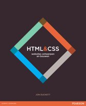 HTML en CSS - websites ontwerpen en bouwen