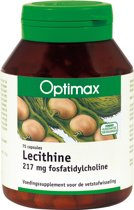 Optimax Lecithine 2000 Capsules 75 st