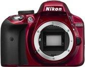 Nikon D3300 Body - Spiegelreflexcamera - Rood