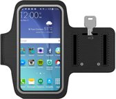 Sport / Hardloop armband voor Samsung Galaxy S2 / S3 / S4 / S5 / S5 Neo/ S6 / S6 Edge / S7, Zwart, S