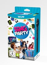 Sing Party + Microfoon - Wii U
