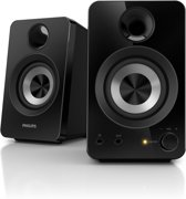 Philips SPA1260 - Mutlimedia Speakers - Zwart