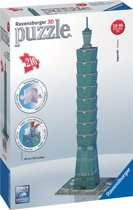 Ravensburger 3D Puzzel - Toren van Taipei - Zeg Architectuur