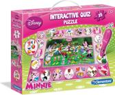 Clementoni Interactieve Quiz Puzzel - Minnie Mouse