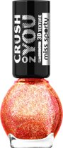 Miss Sporty Miss Sporty Crush on You Nailpolish  - 063 Red Fusion - Nagellak
