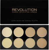 Makeup Revolution Ultra Cover & Concealer Palette - Light