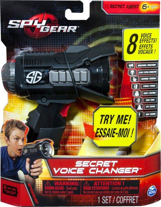 Spy Gear - Stemvervormer