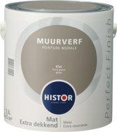 Goedkope Badkamer Kasten ~ Histor Perfect Finish Muurverf Mat  2,5 Liter  Klei