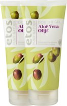 Etos Puur Natuur Douchegel Olijf & Aloe Vera - 2 x 200 ml - Douchegel