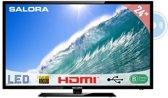 Salora 24LED2605D - Led-tv/dvd-speler - 24 inch - Full HD - Zwart