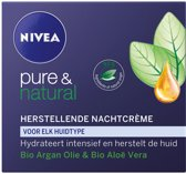 NIVEA  Pure & Natural Nachtcreme