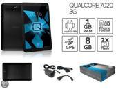 Qualcore 7020 3G tablet, Android 4.4, 2x1.2 GHz CPU, Dual SIM, GPS, 1 GB RAM, 8 GB flash, 7