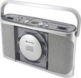 Soundmaster RCD1400SI - Koffer radio/CD-speler - Zilver