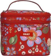 Oilily Winter Blossom Square Cosmeticbag Scar