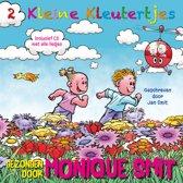 Kartonboek met CD Monique Smit - 2 Kleine kleutertjes