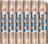 Wella Flex  Hold +  Extra Strong Hold 6x400ml Hairspray