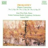 Prokofiev: Piano Concertos 1, 3 & 4 / Paik, Wit, Polish RSO