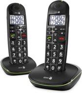 Doro PhoneEasy 110 - Duo DECT telefoon - Zwart