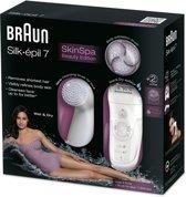 Braun Silk-épil  7 7929 Skinspa inclusief reinigende gezichtsborstel - Epilator