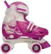 Rolschaatsen Junior Verstelbaar  Hardboot  Maat 34-37