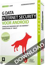 G Data Internet Security voor 3 Androids 1 jaar NL