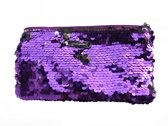 Ariane Inden Make-up Bag Purple Paillette - paars - Make-up tasje